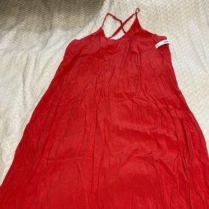 Coral lightweight Old Navy dress